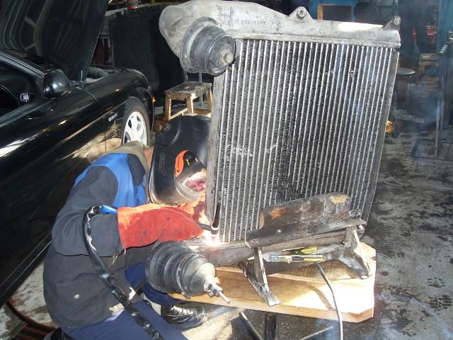 Аргонно-дуговая сварка при ремонте автокондиционера